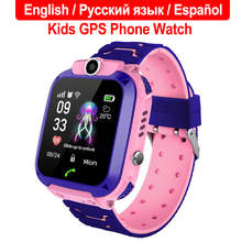 2019 New Waterproof Q12 Smart Watch Multifunction Children Digital Wristwatch Baby Phone For IOS Android Kids Toy Gift