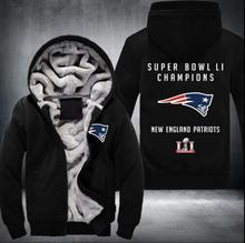 2017 new winner super bowl li partiots  Hoodies US EU Size Plus Size