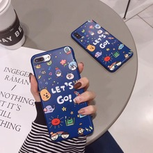 Luxury Brand IMD Matte Soft Silicone Cover for iPhone case X