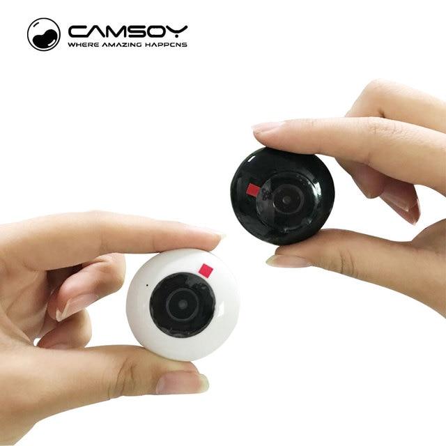 CAMSOY C2 Micro Camera Wifi IP 720P Body Camera Wireless H.264 ...