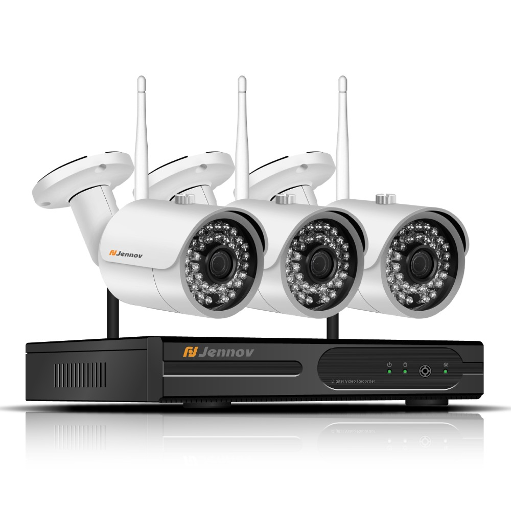 1080P Security Camera System WIfi Wireless System Outdoor IP camera video with NVR kits Surveillance set 2MP 4CH CCTV kit