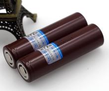 ФОТО 2pcs 100% new original lg hg2 18650 3000mah battery 18650hg2 3.6v discharge 20a, dedicated electronic cigarette power battery
