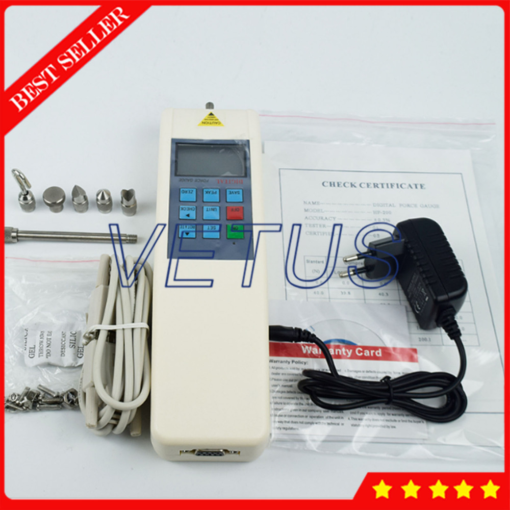 1N-100N Brand New HP-100 Digital Push Pull Gauge Gage Force Gauge Tester Meter