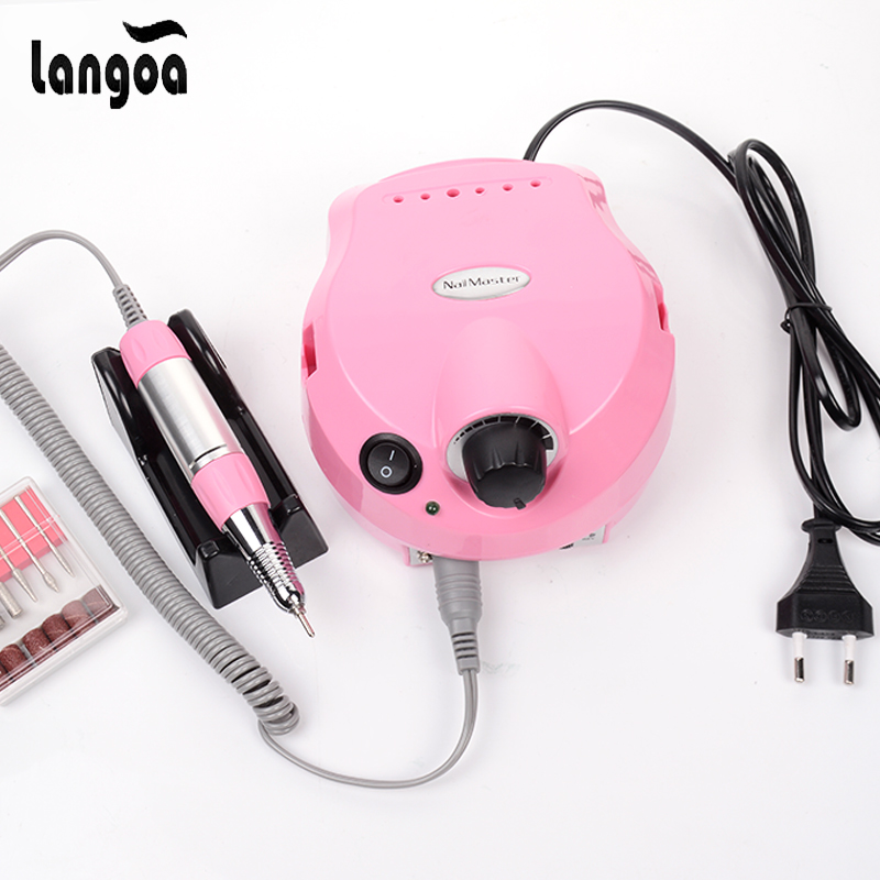 цена на 35000 RPM Nail Drill Pro Electric Nail Drill File Machine Maniure and Pedicure Drill Polish