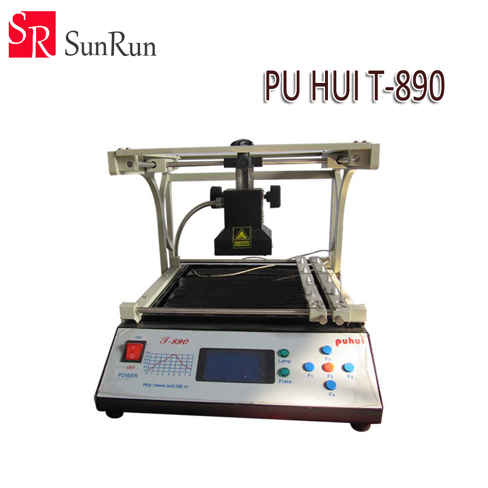 Electric Soldering Irons Devoted Free Shipping Puhui T-890 T890 Bga Double Digital Infrared Station Bga/irda/ifr/smd/smt Welder Rework Station Good For Energy And The Spleen Back To Search Resultstools