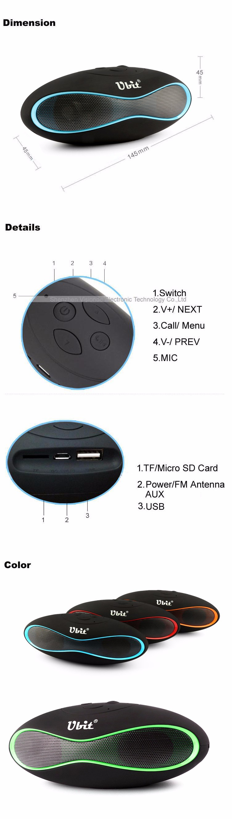 X6U bluetooth speaker spain (1)