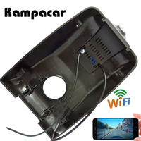 Kampacar HD 1080P Car DVR Wifi Video Recorder Dash Cam Camera For Toyota Highlander 2018 2019 Auto Car Registrars Wifi Dvrs
