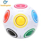 <+>  RCtown сложная головоломка Ball Speed Cube 11 цвета радуги для решения zk15 ✔