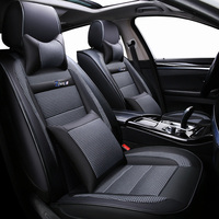 New Luxury leather Universal car seat cover for Mercedes Benz all models c200 w212 A180 B200 c300 E class GLA GLE S500 GLK CLA