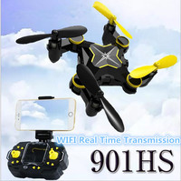 2017New Rc Foldable Drone 901HS WiFi FPV Real Time Video Photo Mini Set Attitude Remote Control