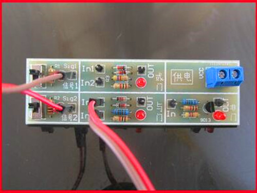 FREE Shipping!!! 5pcs Discrete components circuit kit / Teaching door or gate circuit / digital / Electronic Component module