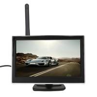 Universal 5 Inch TFT WiFi LCD Display Car Monitor Rear View Backup Reverse Car Monitor Video