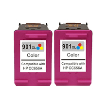Para hp 901 color cartucho de tinta para hp901 901xl officejet 4500 J4580 J4550 J4540 J4680 J4524 J4535 J4585 J4624 Inalámbrica J4660