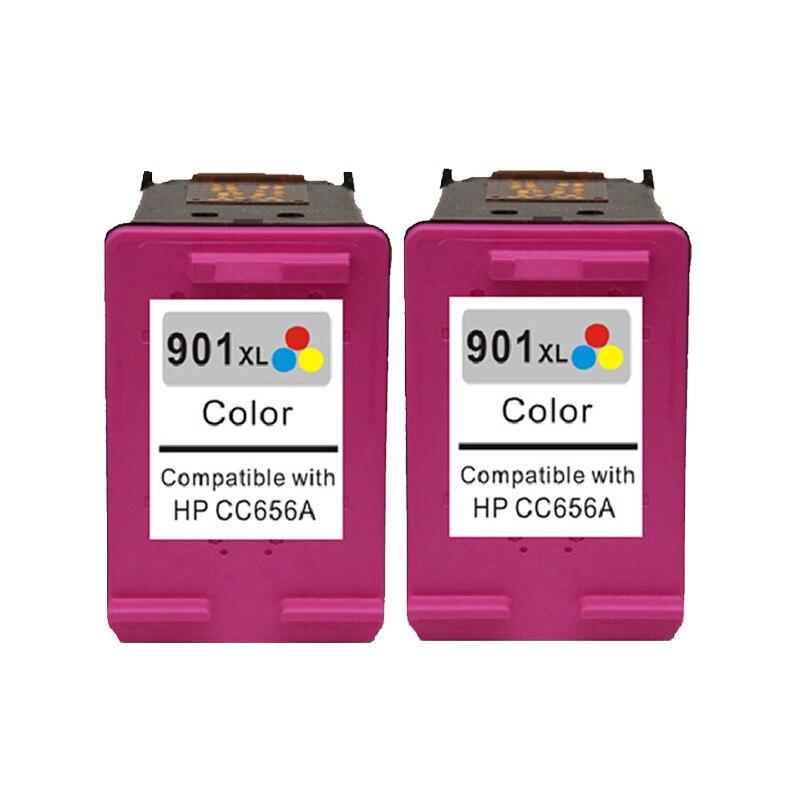Für hp 901 color tintenpatrone für hp901 901xl officejet 4500 J4580 J4550...