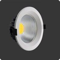 DHL Free Shipping 10pcs Lot High Power 4 Inch Led Downlight 12w COB LED Downlight AC110