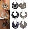 Boucles d'oreilles ethniques Vintage Mode