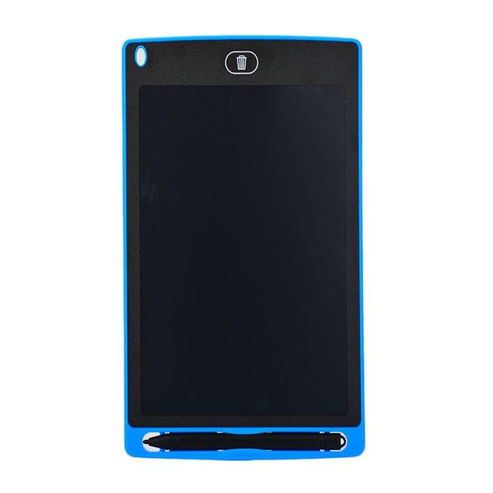 Креативный планшет для рисования 8,5 дюймов блокнот цифровой lcd графическая доска почерк доска объявлений для образования бизнеса - Цвет: blue