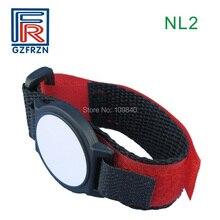 1 шт. T5577 RFID нейлоновый браслет регулируемый ISO 11784/11785 браслет для проведения мероприятий система контроля доступа