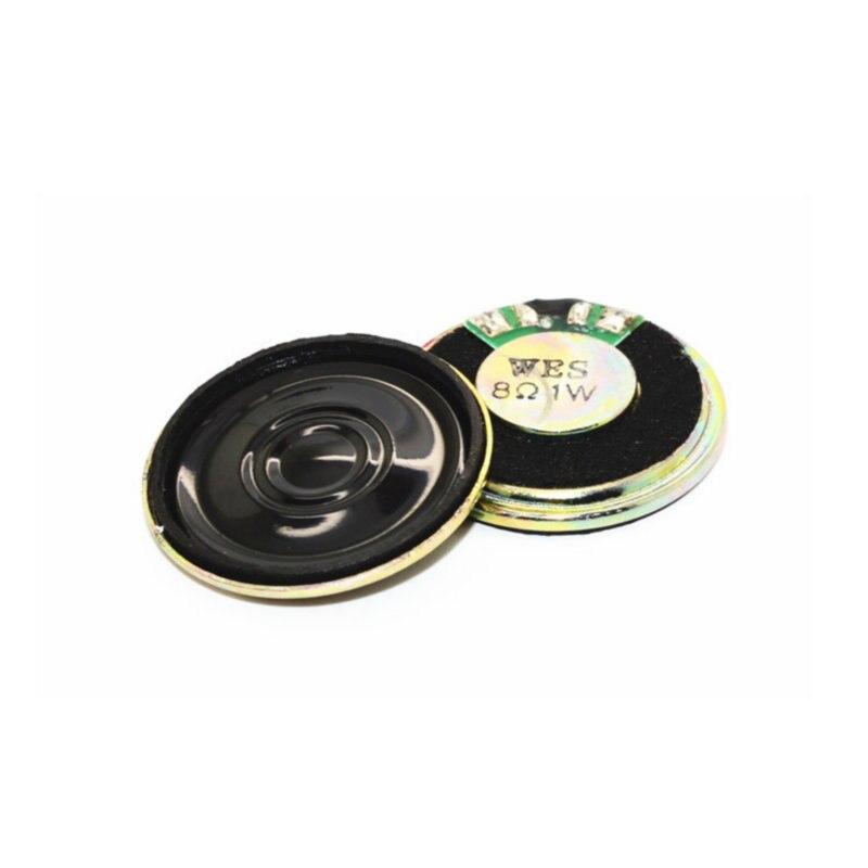 1 pcs Por Atacado de alta qualidade 28mm & 30mm diâmetro 8R 1 w 8ohm speaker chifre pequeno espessura 5mm