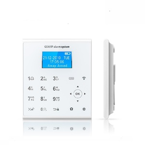 Image 3 - Freies Aliexpress Verschiffen 433MHZ Drahtlose WIFI Home Security Alarm System IOS/Android APP Fernbedienung Touch Tastatur SIM alarm
