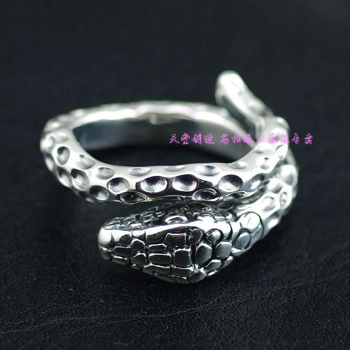 925 pure silver thai silver opening boa ring925 pure silver thai silver opening boa ring