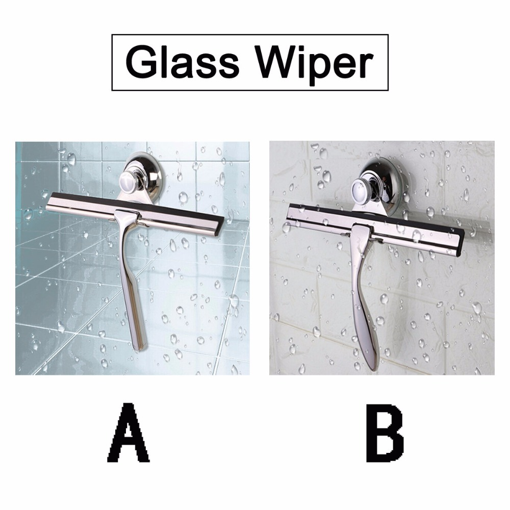 Stainless Steel Glass Wiper Home Window Cleaning Brush Squeegee ...