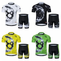 MTB Cycling Clothing Pro Team Cycling Jersey Set Gear Bike Uniform Cycle Shirt Ropa Ciclismo Biking