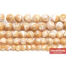 9th Aug натуральный коричневый трохус Морская раковина круглые бусины 6 8 9 мм выбрать размер для изготовления ювелирных изделий