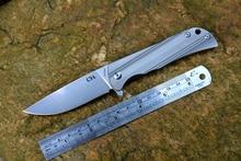 CH высокая производительность 3001 складной нож D2 лезвие подшипник шайба titanium ручка открытый отдых на природе охота карманный нож EDC инструменты