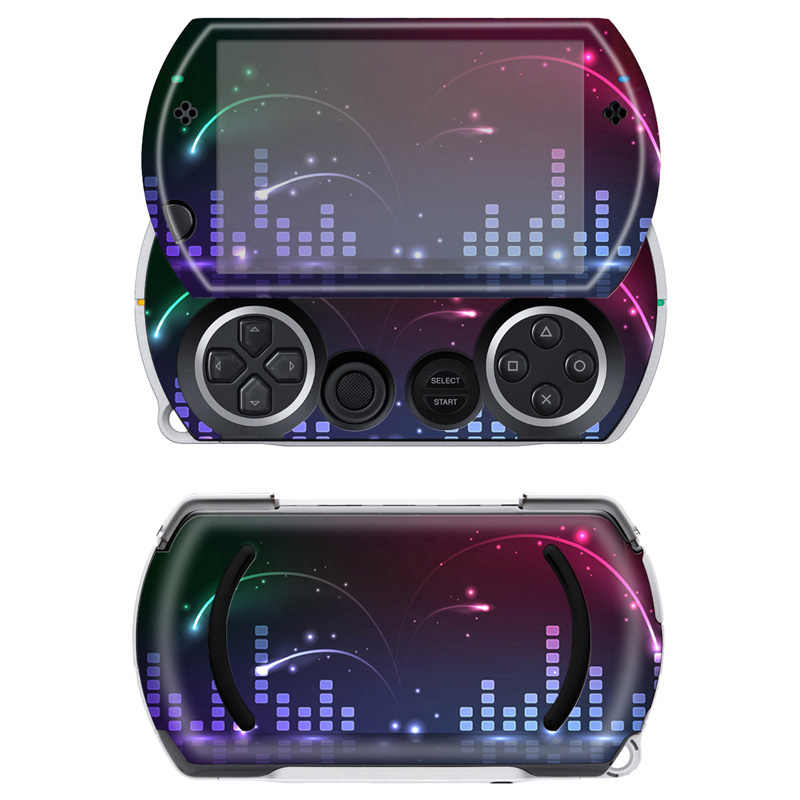 Free drop shipping lihense colorskin decal skin sticker for Sony PSP Go  #TN-PGO-778