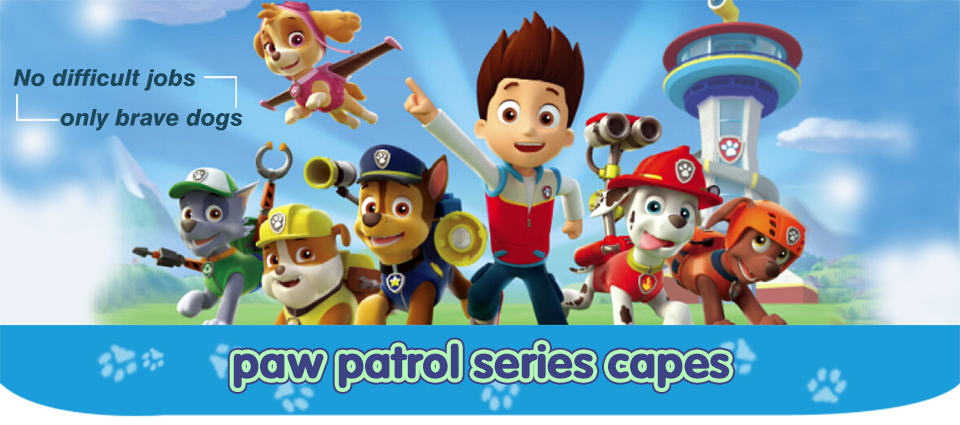 Paw Patrol Cape And Mask Costume