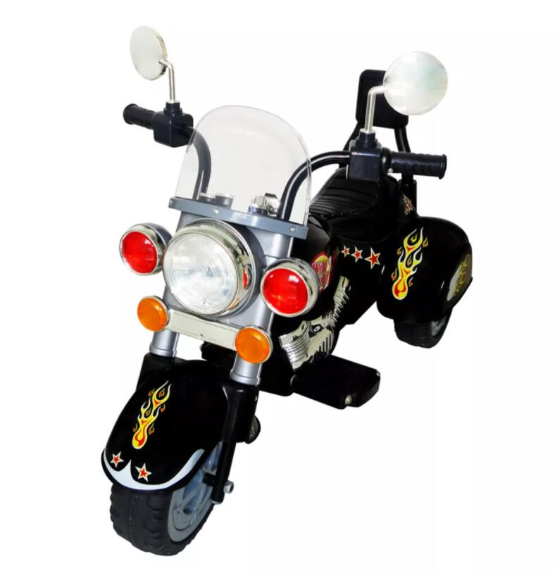 VidaXL Moto Enfant Harley Creative Children Toys With MP3 / CD Audio Function Electric Motorcycle Model ToyVidaXL Moto Enfant Harley Creative Children Toys With MP3 / CD Audio Function Electric Motorcycle Model Toy