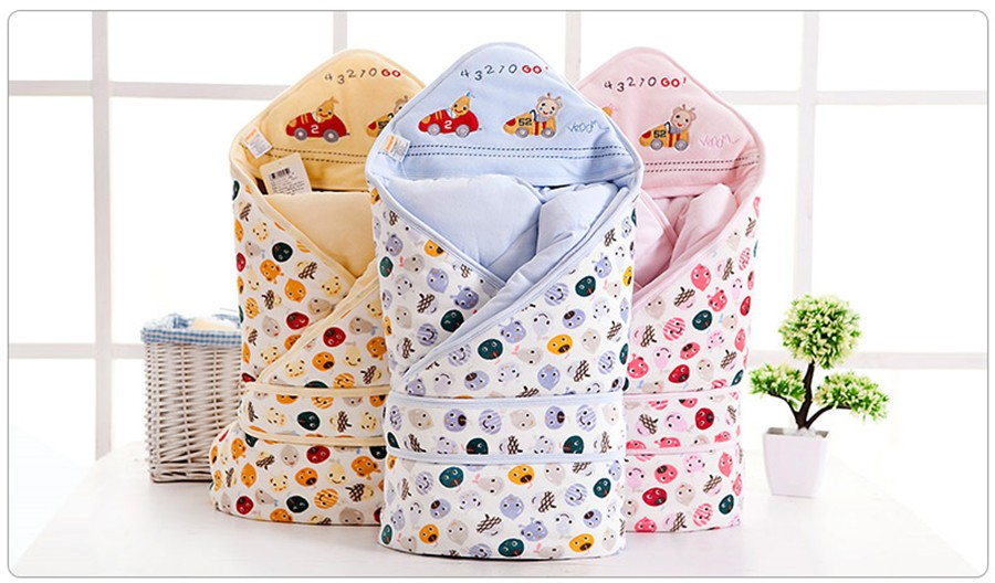 Baby Wrapped Blanket Warm Care (19)