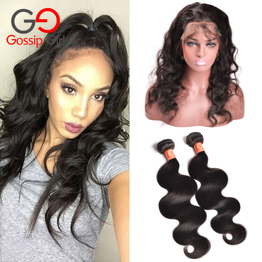 360 Lace Frontal With Bundle Malaysian Body Wave Human Hair 360 Frontal With Bundles, 360 Lace Frontal Closure With Bundles