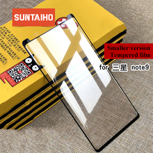 Suntaiho Tempered Glass for Samsung Galaxy S7 edge S9 plus Note9 3D Full Cover Screen Protector S8 film