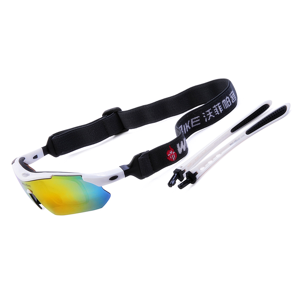 46036b41c3 WOLFBIKE Men Cycling Bicycle Road Mountain Bike Outdoor Sports Sun Glasses  Eyewear Goggles Sunglasses 5 Lens Polarized-in Cycling Eyewear from Sports  ...
