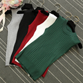 new fashion women knitted vest short design Camis Tank Top Sleeveless sweater female sexy clothing pullover girls cotton tops