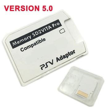 V5.0 SD2VITA PSVSD Pro Adapter für PS Vita Henkaku 3.60 Micro SD Speicherkarte