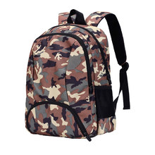 21b0a24d2b77 Vbiger Unisex Student Backpack Nylon Children School Bag Cartoon Book Bags  Camouflage Shoulders Bag for Primary School Students