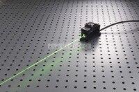 100 МВт 532nm зеленый лазер точка модуль + TTL/аналоговый 0 30 кГц + TEC охлаждение + 85 265 В