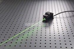 100 mW 532nm zielony Laser moduł Dot + TTL/analogowa 0-30 KHZ + chłodzenia TEC + 85 -265 V