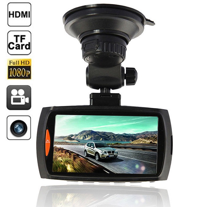 Car DVR Camcorder Video Recorder Vehicle Camera DVR Car Video Camera Recorder HD 1080P 2.7inch LCD 170 Degree