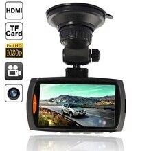 Видеорегистраторы для автомобилей видеокамера Регистраторы Авто-камеры видеорегистратор автомобильный Камера Регистраторы HD 1080 P 2.7 дюйма ЖК-дисплей 170 градусов