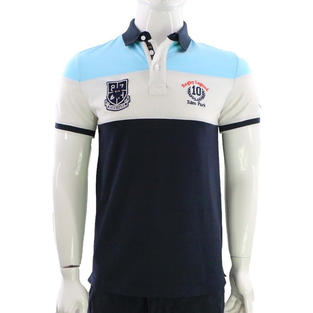 SLIM SIZE EUROPEAN DESIGN BRAND CLOTHING FRANCE EDEN PARK NEW DESIGN FOR MEN'S POLO SHIRT WITH HIGH QUALITY EMBROIDERY