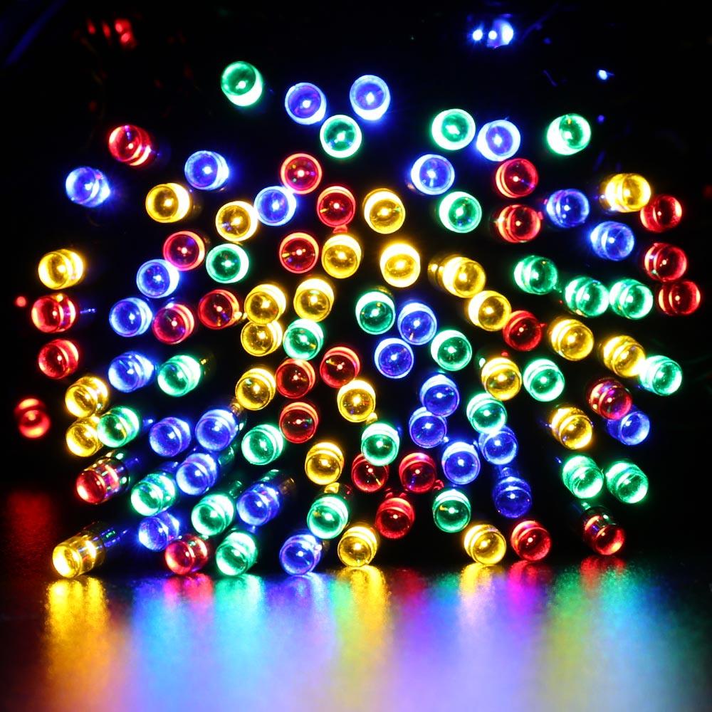 22M 200 LED Solar String Fairy font b Lights b font Premium Quality Waterproof LederTek Solar