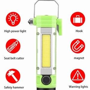 Image 5 - Esterno Batteria Ricaricabile Usb Luce Portatile Con Il Magnete di Campeggio della Torcia Elettrica Garage Strumenti di Lavoro Della Lampada
