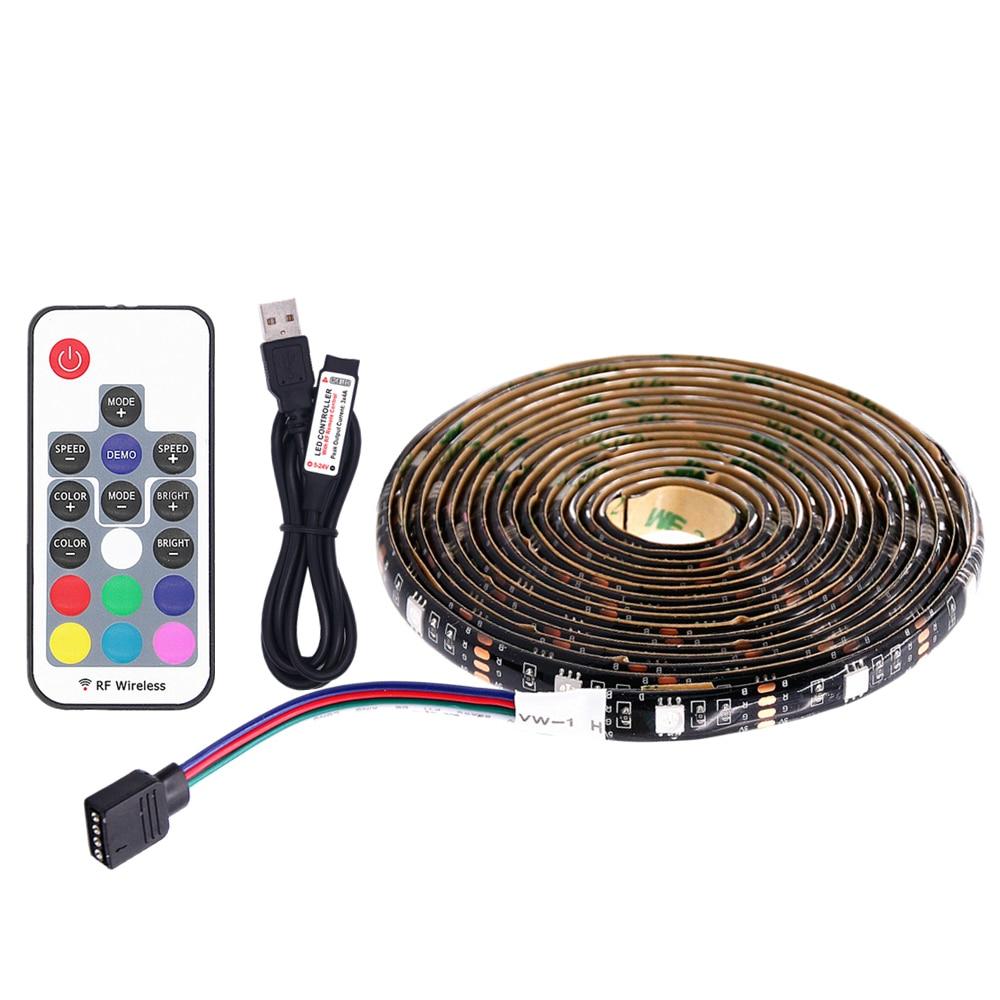 5050 waterproof 5v usb port power led rgb strip light flexible led rh aliexpress com