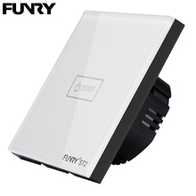 Funry interrupteur intelligent, 1 bouton, 1 voie, 170 240V, wi fi/application, Original, pour luminaire, standard EU, rf 433mhz