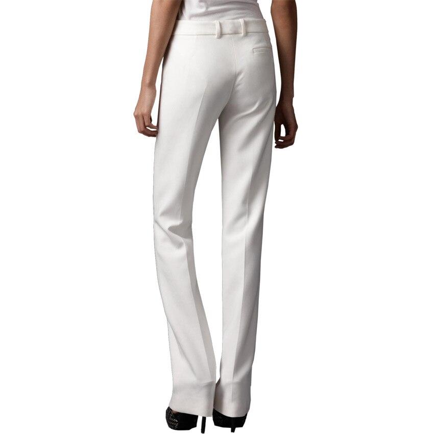 Pantalon femme, новые модные широкие брюки с высокой талией для женщин, офисная одежда, обтягивающие брюки, женские винтажные брюки - 4