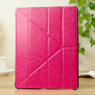 """4 Shapes PU Leather Case for ipad  4 3 2 9.7"""" Smart Cover Sleep Function Stand Magnetic Fashion, Ultrathin Design Transformer"""